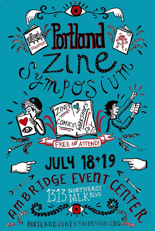 Portland Zine Symposium.